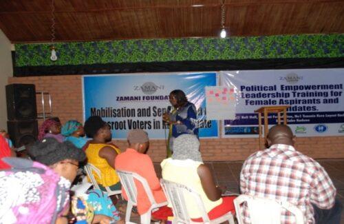 Political Empowerment Leadership Training